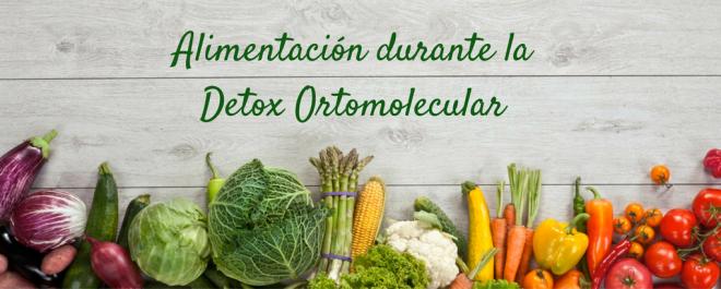 Alimentación en la dieta detox