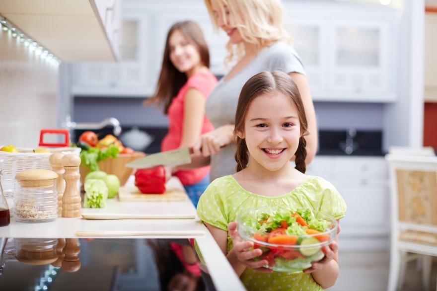 Niños y dieta equilibrada