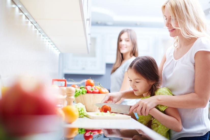 Lograr que los hijos coman de todo